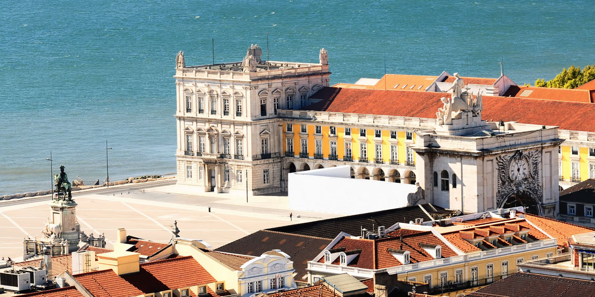 The Praça do Comércio Lisbon