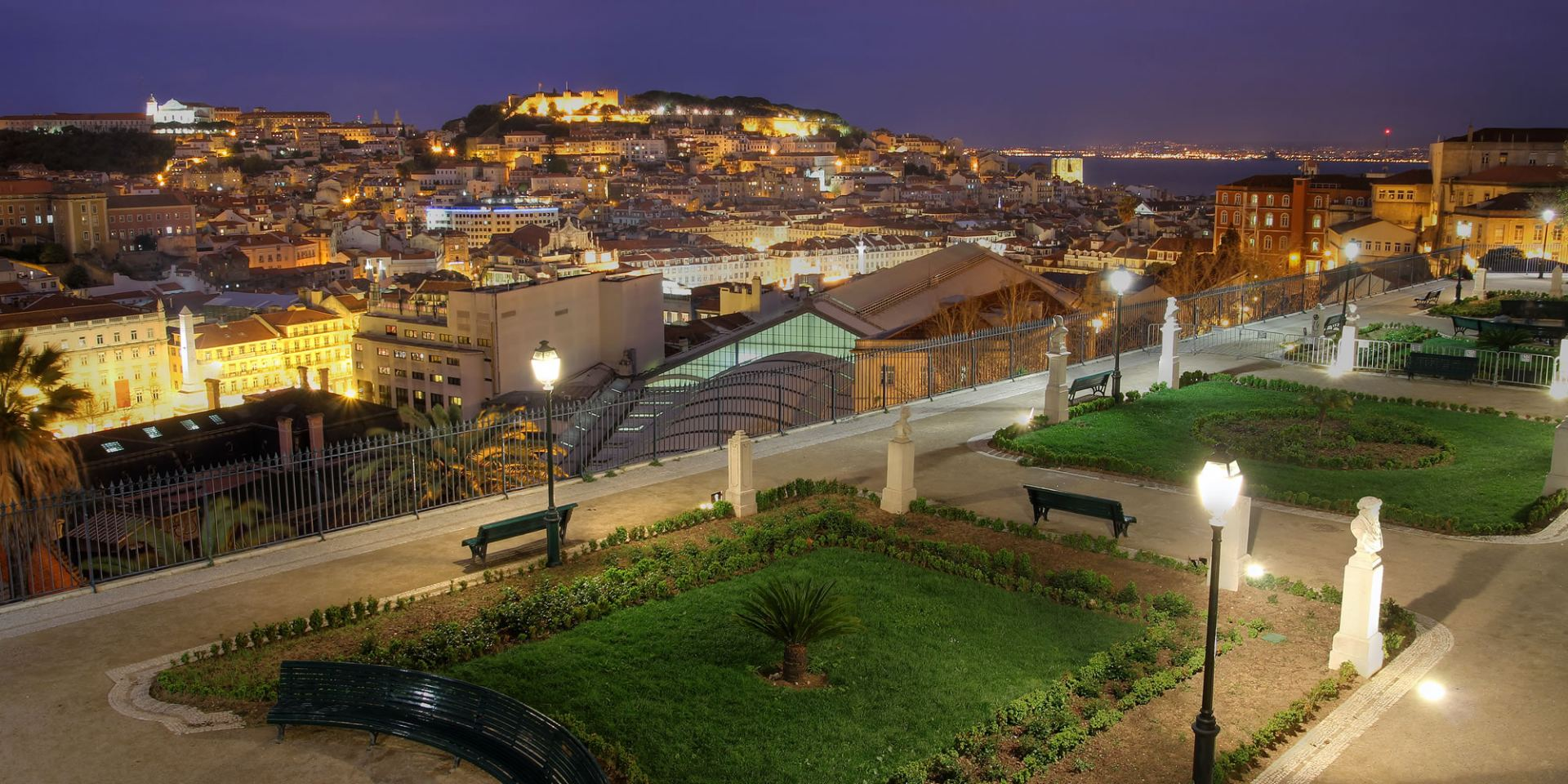 Panoramic View Lisbon